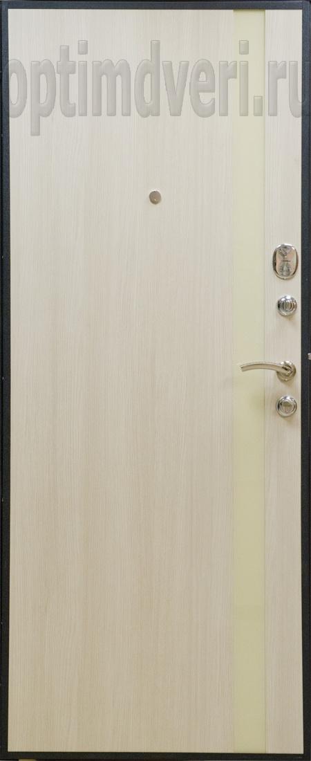 металлическая дверь цвет белый шелк