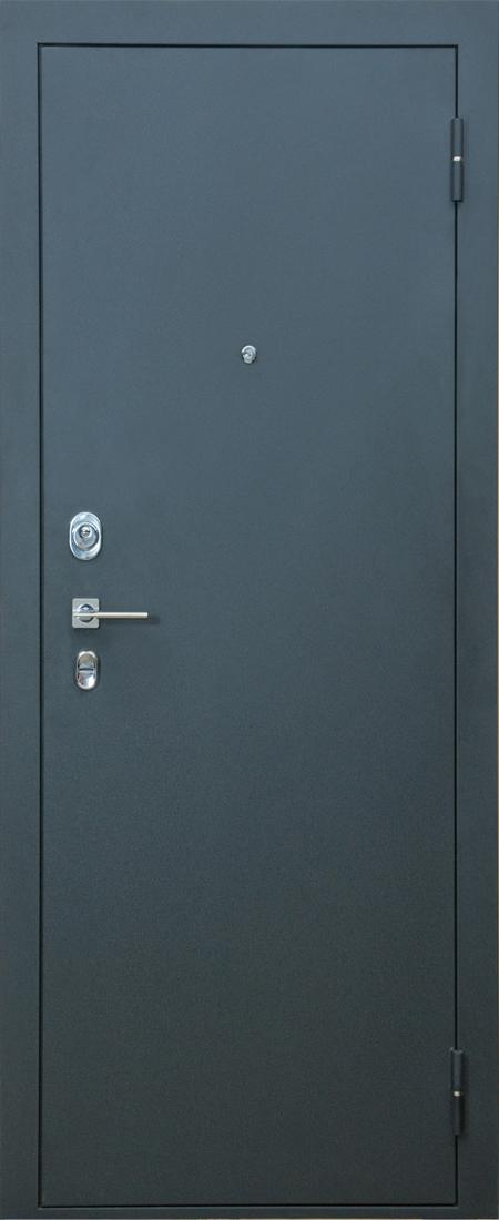 металлические двери материал