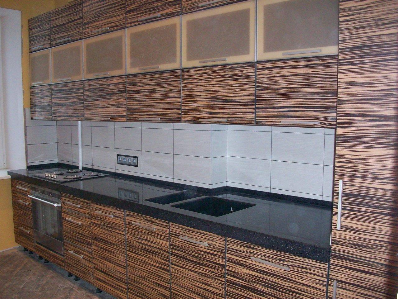 Фасады кухни из пластика фото