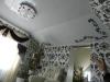натяжной потолок с фотопечатью в трех плоскостях