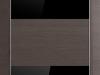 10Z Грей Кроскут, Черный глянцевый лак
