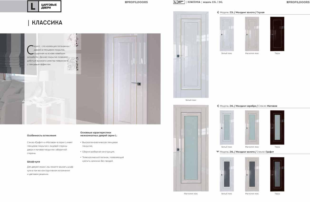 современные межкомнатные двери в орле