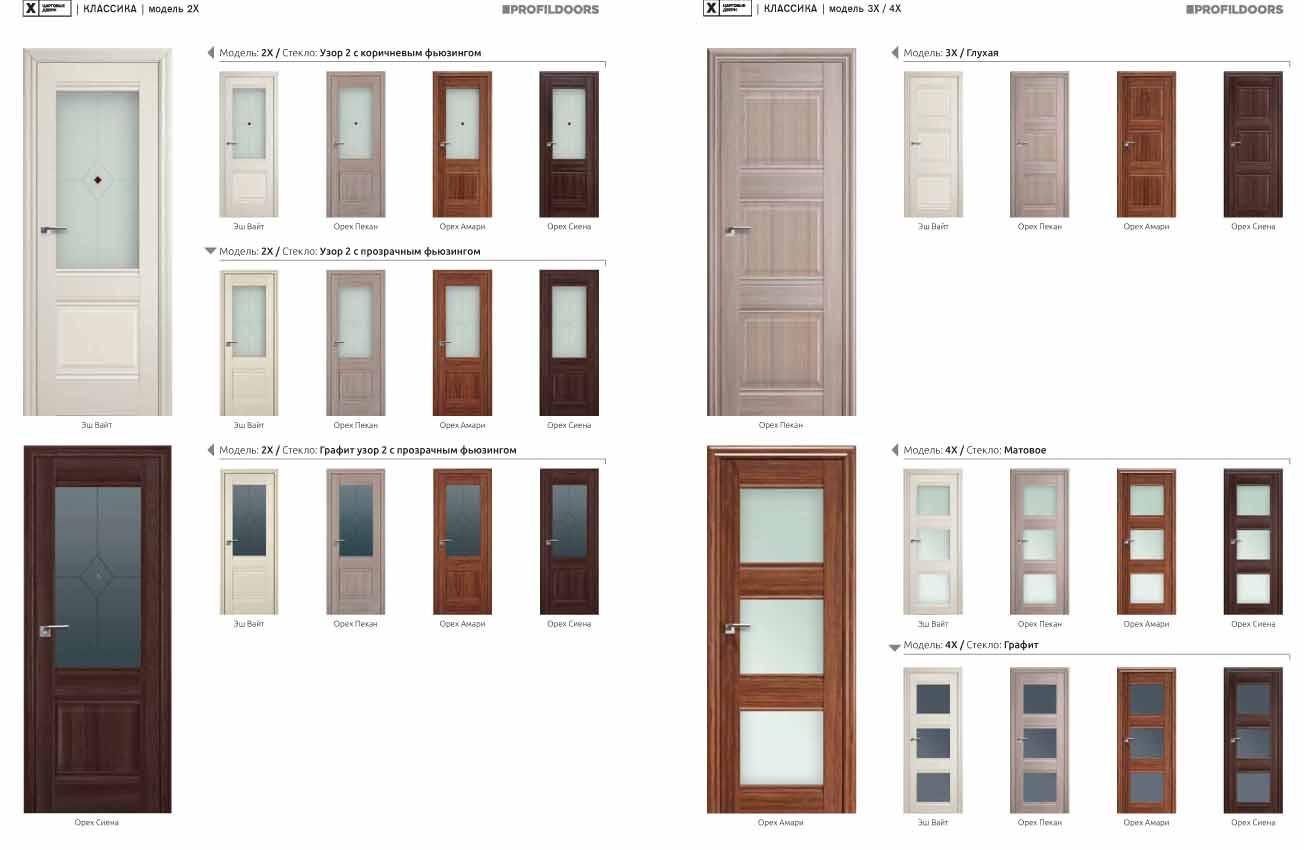 Межкомнатные двери «ProfilDoors» в Орле. Огромный выбор.