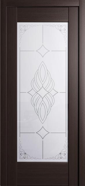 Дверь Квадро ДО-1 венге
