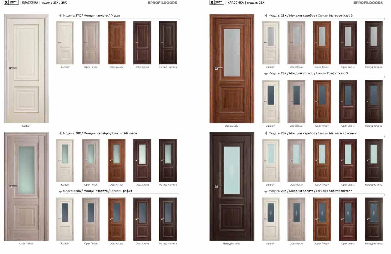 Межкомнатные двери «ProfilDoors» в Орле.