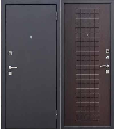 Дверь входная Гарда Муар Венге