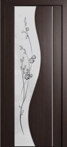 Межкомнатная дверь со стеклом триплекс в Орле