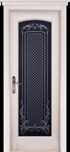 Дверь Витраж массив сосны