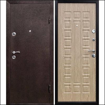 Дверь входная Йошкар (карпатская ель)