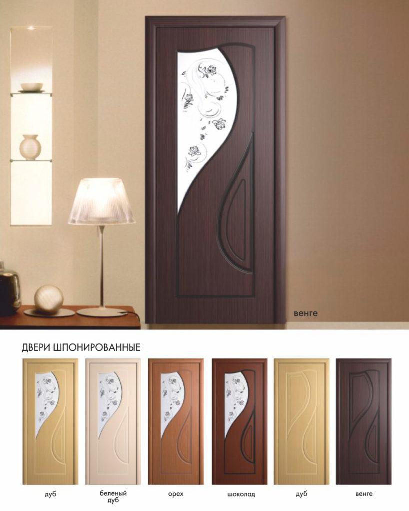 Дверь межкомнатная Инь Янь
