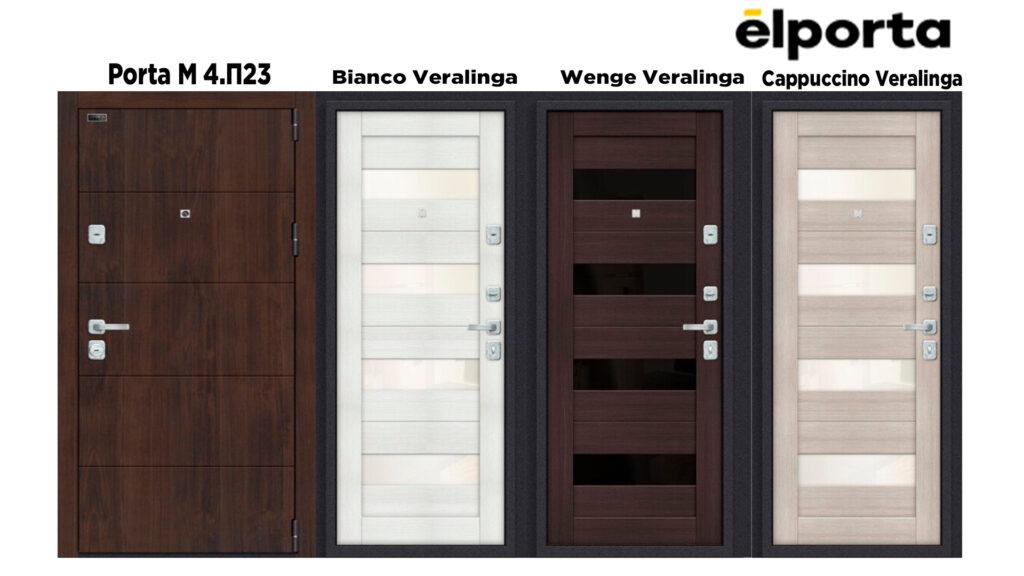 Входная дверь Эльпорта, Elporta Porta М 4. П23